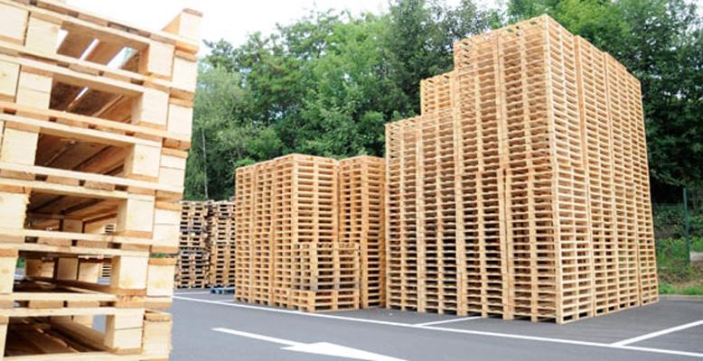 Recyclage des palettes en bois