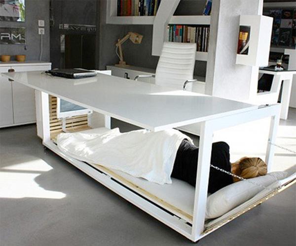 Un bureau pour la sieste